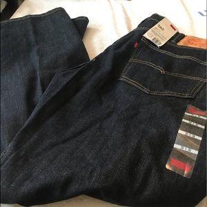 New mens levi jeans size 38x30